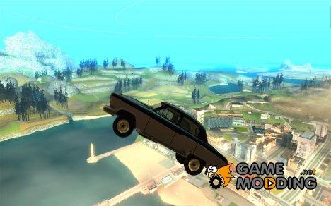 Чёрная молния для GTA San Andreas