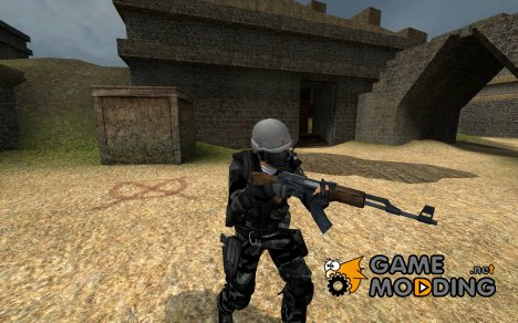 Russian spepsnaz V2 for Counter-Strike Source