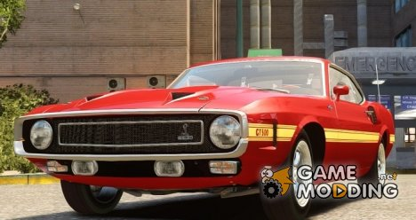 Shelby GT500 428CJ CobraJet 1969 для GTA 4
