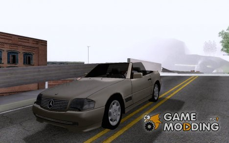Mercedes Benz SL500 for GTA San Andreas