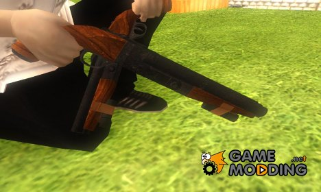 Sawnoff Shotgun from RE6 for GTA San Andreas