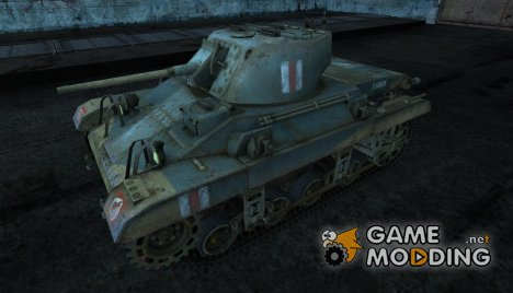 Шкурка для танка M22 Locust для World of Tanks