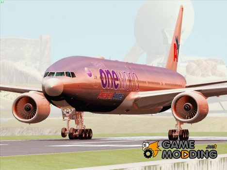 Boeing 777-200ER American Airlines - Oneworld Alliance Livery для GTA San Andreas