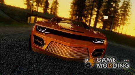 Chevrolet Camaro DOSH Tuning v2 for GTA San Andreas
