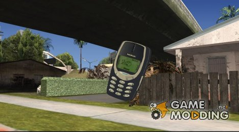 Nokia 3310 for GTA San Andreas