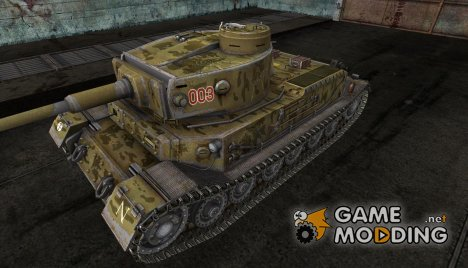 Шкурка для Pz. VI Tiger (P) для World of Tanks