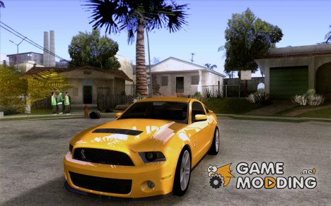 Ford Shelby GT 500 2010 для GTA San Andreas