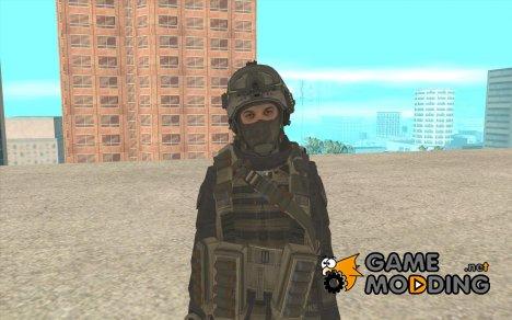 Второй скин солдата из CoD MW 2 for GTA San Andreas