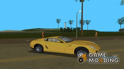 "Ferrari 599 GTB Fiorano 2006 ""Orange"" for GTA Vice City"