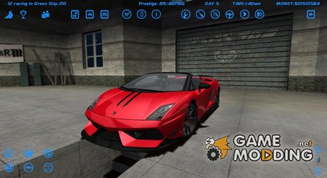 Lamborghini Gallardo LP 570-4 Spyder for Street Legal Racing Redline
