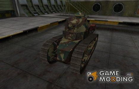 Французкий новый скин для Renault FT for World of Tanks