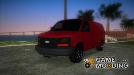 Chevrolet Express Cargo 2005 for GTA Vice City