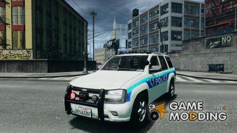 Chevrolet Trailblazer Police V1.5PD для GTA 4