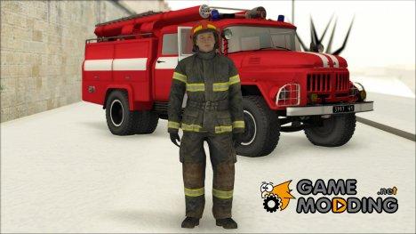 Сотрудник МЧС v.3 для GTA San Andreas
