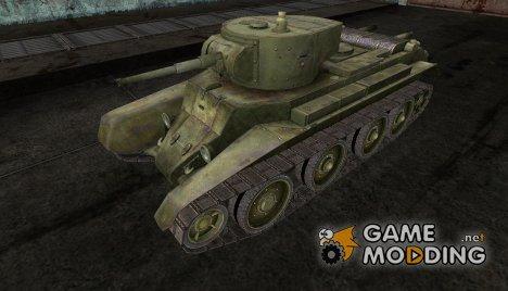 Шкурка для БТ-7 для World of Tanks