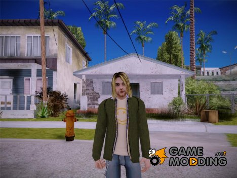 Kurt Cobain (Nirvana) for GTA San Andreas