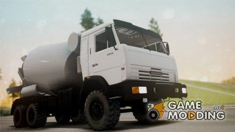КамАЗ 43118 Автобетоносмеситель для GTA San Andreas
