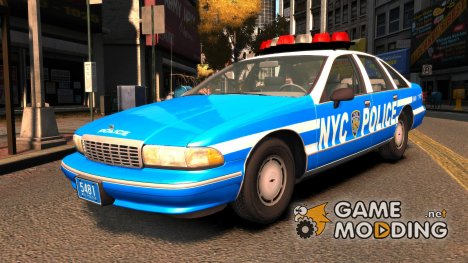 Chevrolet Caprice 1993 NYPD for GTA 4