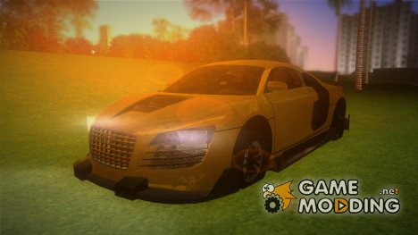 Audi Le Mans Tuning v.2 for GTA Vice City