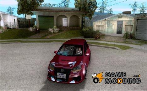VolksWagen Golf GTI W12 TT Black Revel для GTA San Andreas