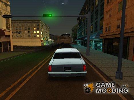 Enb только отражение на автомобилях для слабых ПК for GTA San Andreas