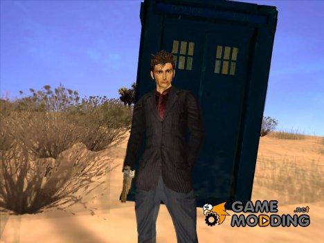 Десятый Доктор Кто for GTA San Andreas