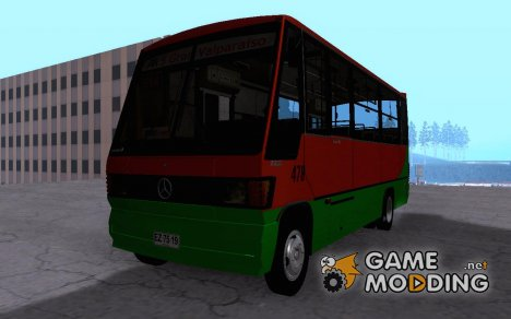 Caio Carolina Transporte Metropolitano Valparaiso for GTA San Andreas