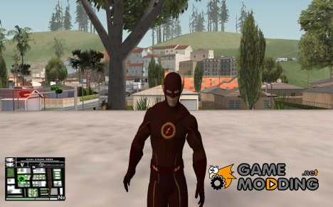 The Flash (TV Series) Red Logo for GTA San Andreas