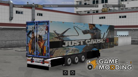 Just cause 3 for Euro Truck Simulator 2