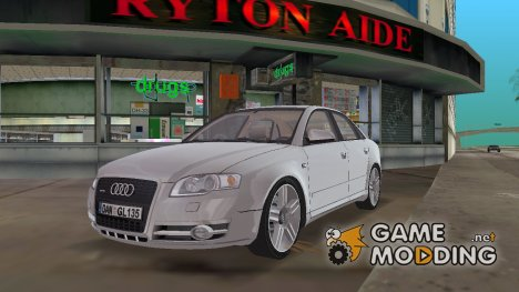 2005 Audi A4 Sedan 3.0 TDI Quattro for GTA Vice City