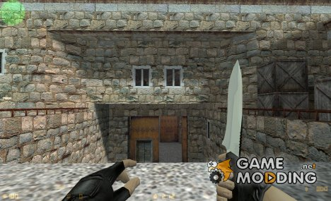 White Black Knife для Counter-Strike 1.6
