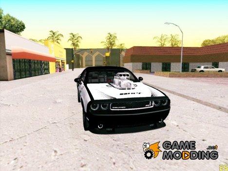 Dodge Challenger SRT8 Hemi Drag-Tuning for GTA San Andreas
