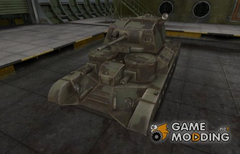 Пустынный скин для Cruiser Mk. I для World of Tanks