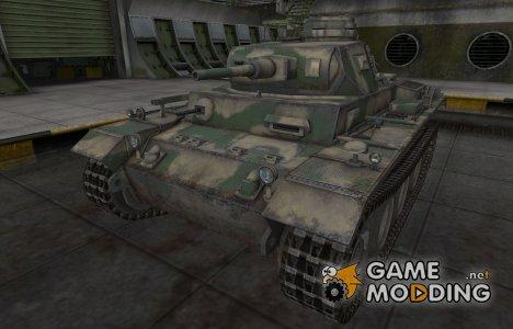 Скин для немецкого танка VK 20.01 (D) for World of Tanks