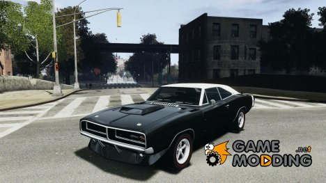 Dodge Charger RT 1969 Tun для GTA 4