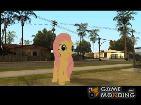 Fluttershy (My Little Pony) for GTA San Andreas