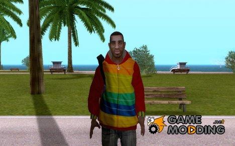 Плейбой Х с рюкзаком из GTA IV для GTA San Andreas
