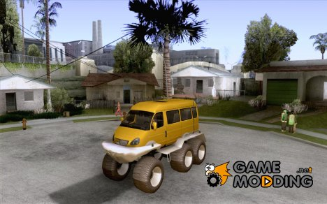 Газель 2705 болотоход for GTA San Andreas