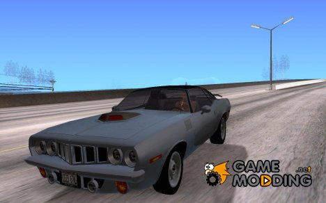 Plymouth Barracuda 1972 for GTA San Andreas