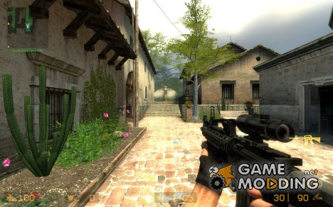M16a4 V2 для Counter-Strike Source