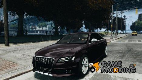 Audi S4 2010 v1.0 for GTA 4