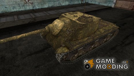шкурка для T25 AT №8 for World of Tanks