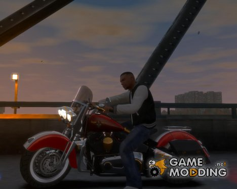 Harley-Davidson Fat Boy Lo (Vintage final) для GTA 4