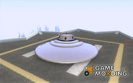 UFO In San Andreas для GTA San Andreas