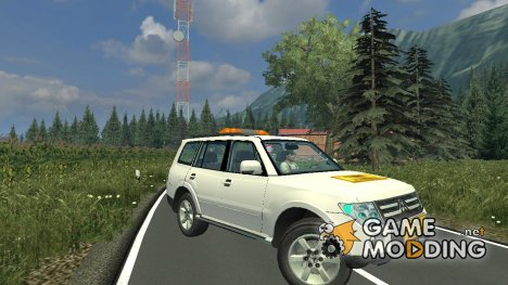 Mitsubishi Montero v 2.0 for Farming Simulator 2013