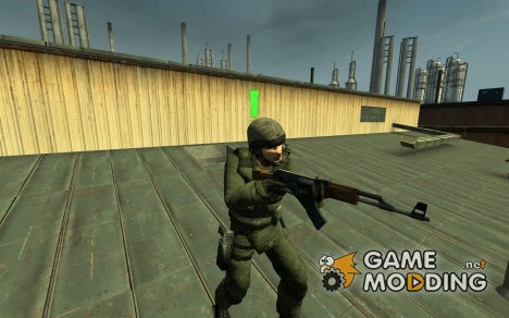 Gsg9 Israelian Soldier для Counter-Strike Source