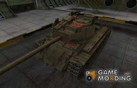 Качественные зоны пробития для T26E4 SuperPershing для World of Tanks