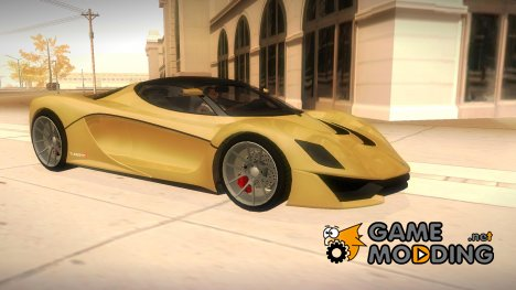 GTA V Grotti Turismo R для GTA San Andreas