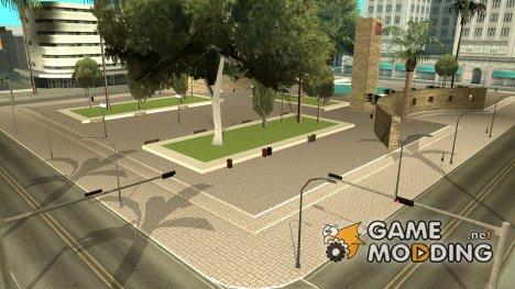 Ретекстур площади у мэрии для GTA San Andreas