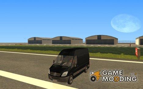 Mercedes-Benz Sprinter 311CDi Cargo van для GTA San Andreas